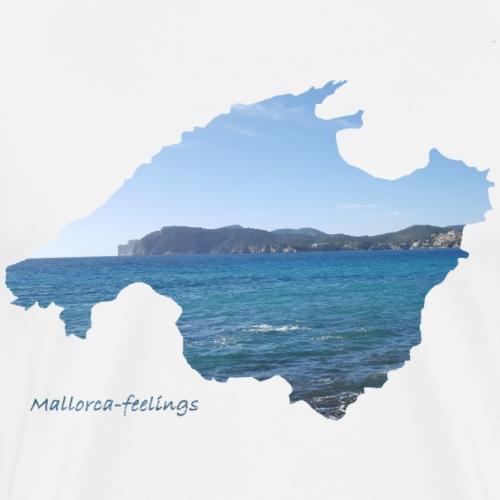 Mallorca-feelings blue water 2 - Männer Premium T-Shirt