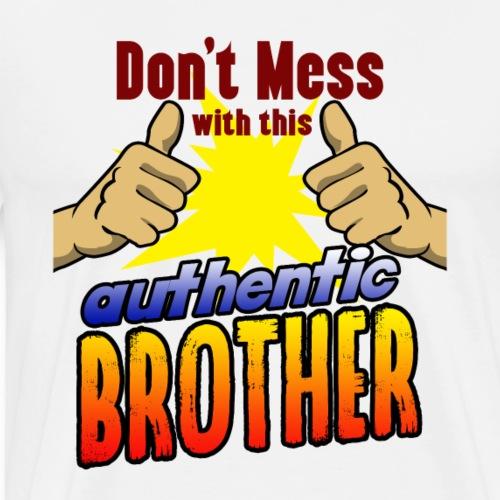 Bruder Geschenk Vater Onkel Familie Schwester - Men's Premium T-Shirt