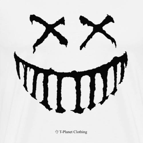 Creepy Smile Black - Maglietta Premium da uomo