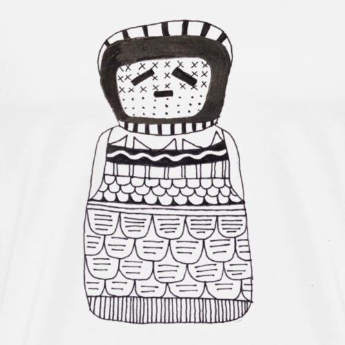 Puppe - Männer Premium T-Shirt