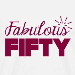 50th birthday: Fabulous Fifty - Men's Premium T-Shirt