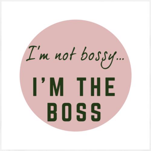 I'm not bossy I'm the boss - Men's Premium T-Shirt