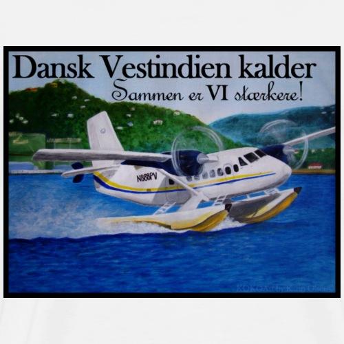Vandflyver - Sammen er VI stærkere! - Herre premium T-shirt