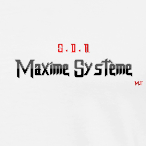 maxime systéme 1 - T-shirt Premium Homme