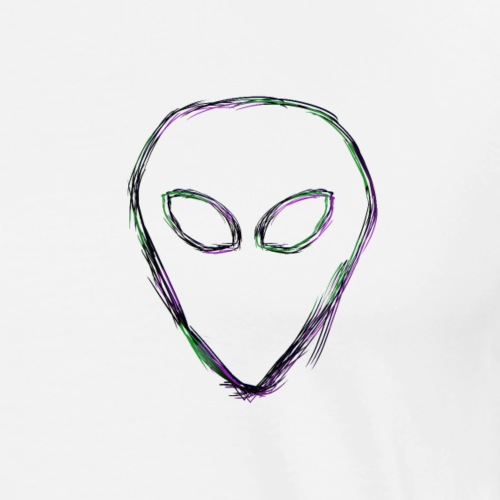 Alien Distorion - Men's Premium T-Shirt