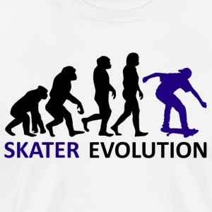 ++ ++ Skater Evolution - T-shirt Premium Homme