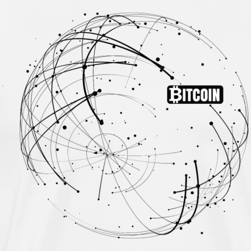 Bitcoin Network - Männer Premium T-Shirt