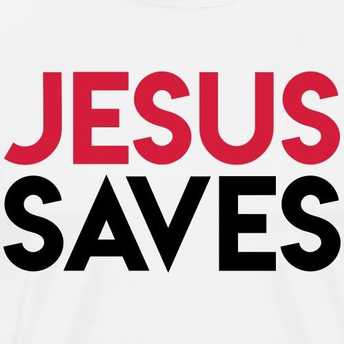 Jesus Saves - T-shirt Premium Homme