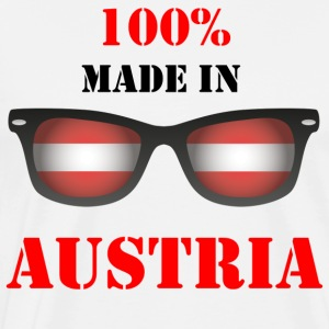 MADE IN AUSTRIA - Premium T-skjorte for menn
