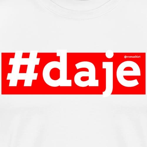 Daje - Maglietta Premium da uomo
