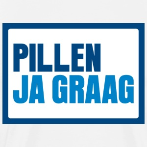 Pillen? Ja graag... - Men's Premium T-Shirt