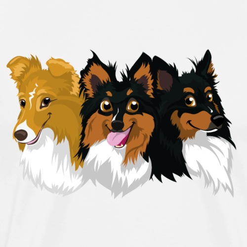 Sprinter, Turbo and Brinco - Men's Premium T-Shirt