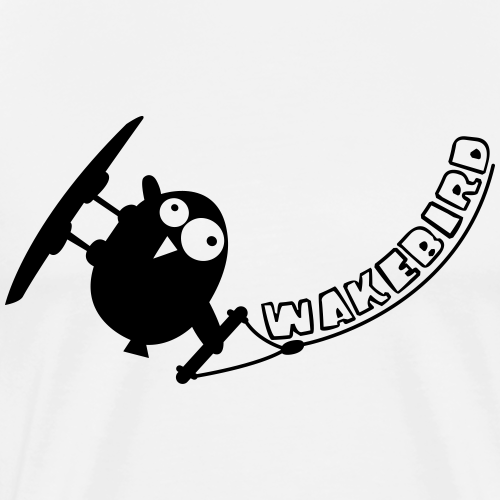 Wakebird - Männer Premium T-Shirt