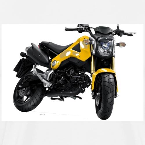 Grom Motorcycle (Monkey Bike) - Men's Premium T-Shirt
