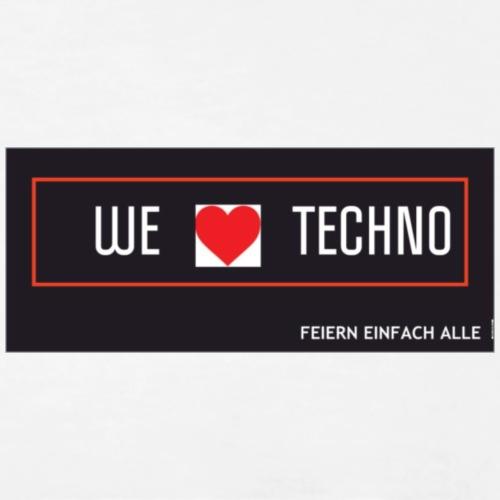 techno banner - Männer Premium T-Shirt