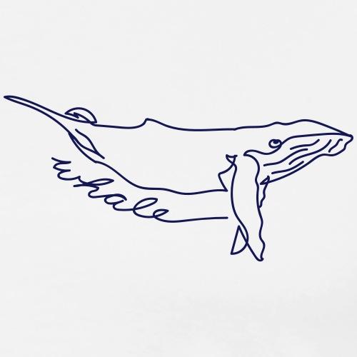 whale - Männer Premium T-Shirt
