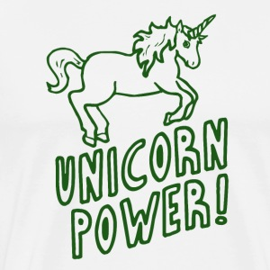 Unicorn - Power! - Premium T-skjorte for menn