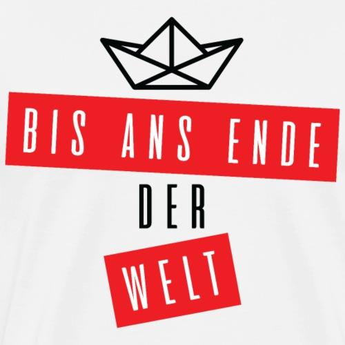 Bis ans Ender der Welt #1 - by Life to go - Männer Premium T-Shirt