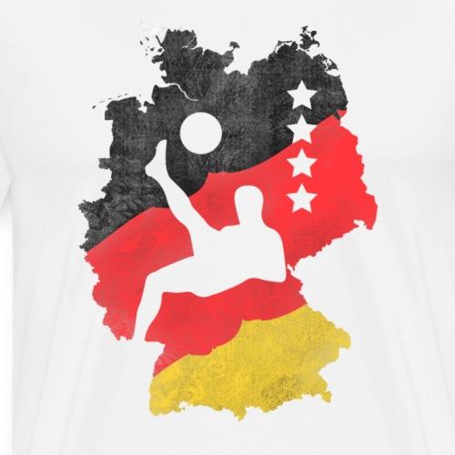 Deutschland Fußball Fussball Weltmeister Fan - Männer Premium T-Shirt