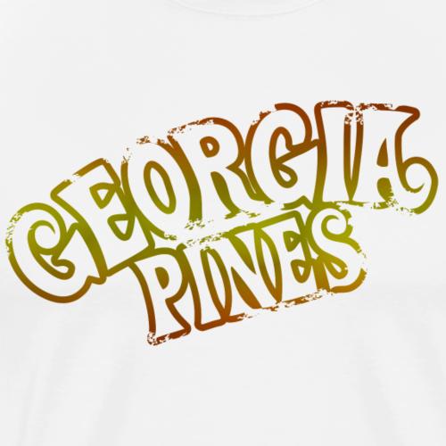 Georgia Pines Band Shirt Logo Rost - Männer Premium T-Shirt