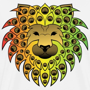 Ragga sound lion - Men's Premium T-Shirt
