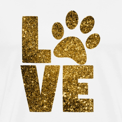 Limitierte Edition Love Pet - Männer Premium T-Shirt