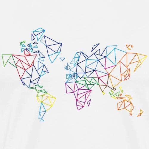 Polygon World - by Life to go - Männer Premium T-Shirt