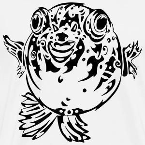 Puff the Blowfish - Men's Premium T-Shirt