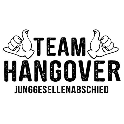 Team Hangover - JGA T-Shirt - Bachelor Shirt - Männer Premium T-Shirt