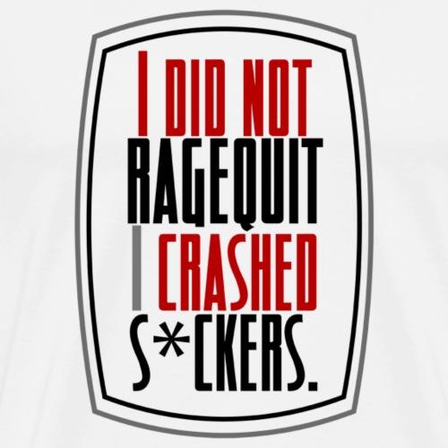 RageCrashed - T-shirt Premium Homme