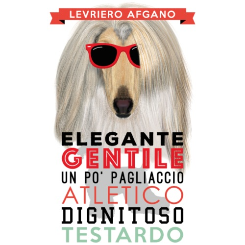 01_LEVRIERO_AFGANO - Maglietta Premium da uomo