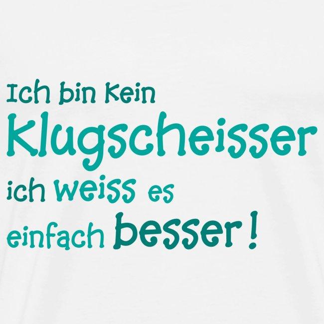 Fotogeschenke Klugscheißer Besserwisser Lustig Spruch Geschenk