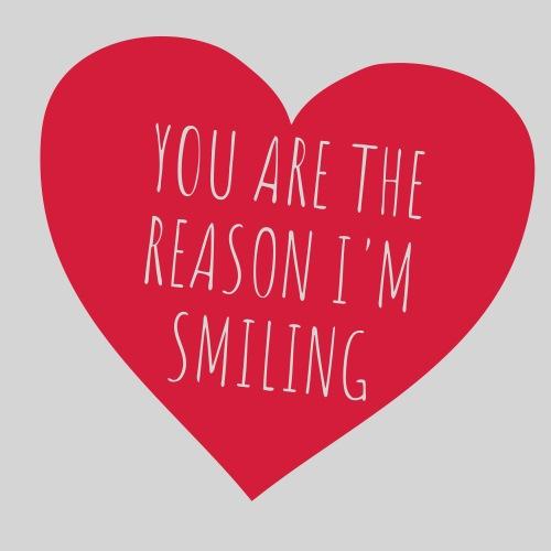 Smiling Heart - Männer Premium T-Shirt
