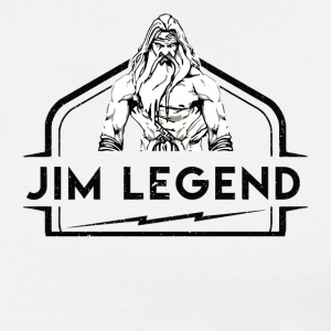 jim Legend - Premium-T-shirt herr