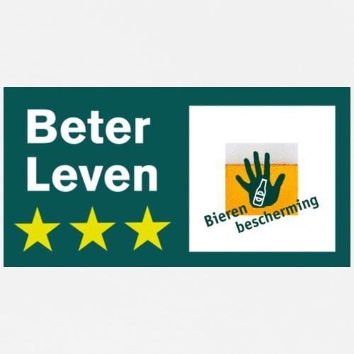 Bieren bescherming Beter Leven - Mannen Premium T-shirt