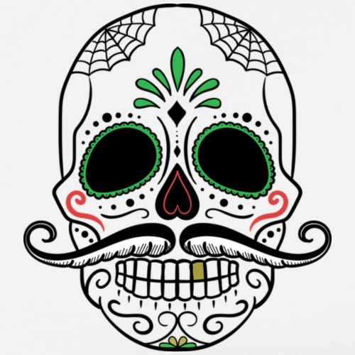 Skull, a Mexican Point - Fernando - Men's Premium T-Shirt
