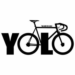 Yolo - Mannen Premium T-shirt