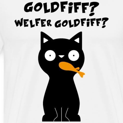 Katze Tierfreund lustig Geschenk - Männer Premium T-Shirt