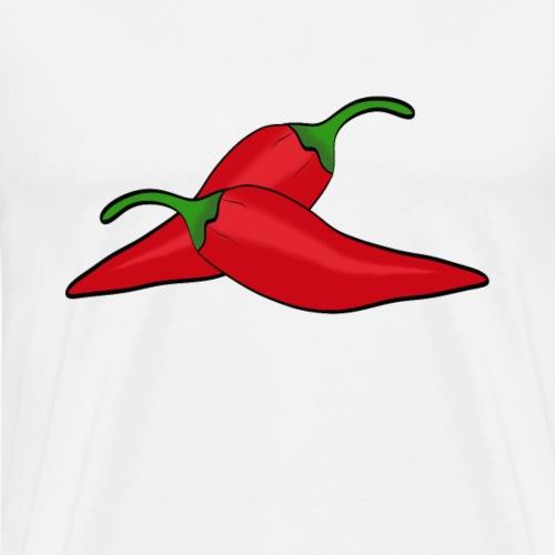 Peperoni - Männer Premium T-Shirt