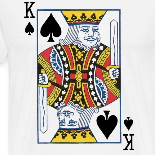 Roi de Pique - T-shirt Premium Homme