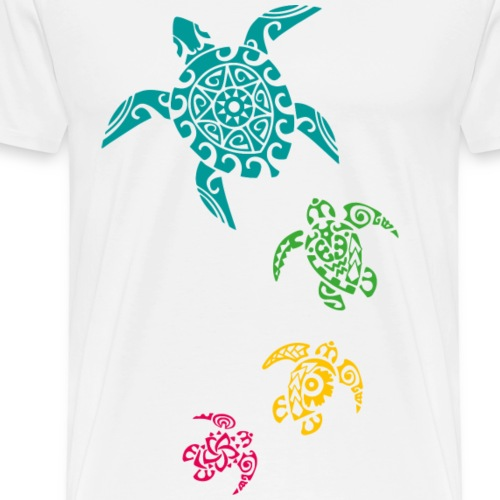 Turtles - T-shirt Premium Homme