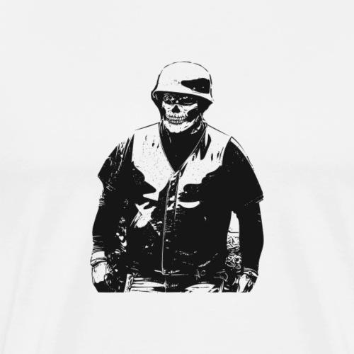 Biker by Howard Charles - Men's Premium T-Shirt