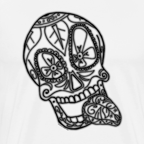 Squelette délire - noir (Spécial Halloween) - T-shirt Premium Homme