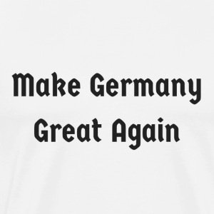 Make_Germany_Great_Again - Premium T-skjorte for menn