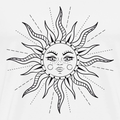 Here Comes The Sun - Männer Premium T-Shirt