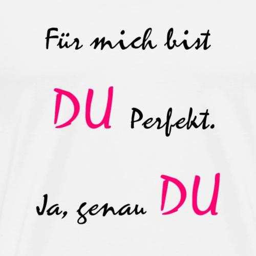 Lustiger Spruch zum lachen - Männer Premium T-Shirt