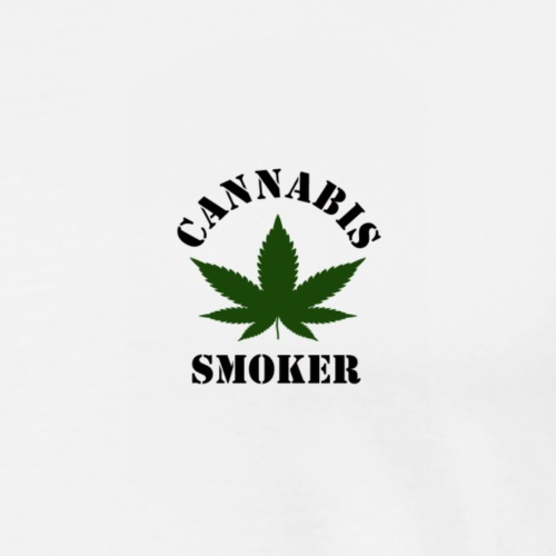 Cannabis Smoker - Männer Premium T-Shirt