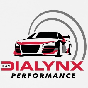 Dialynx Performance Race Team White Range - Men's Premium T-Shirt