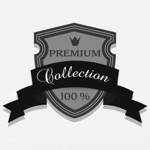100% Premium Collection Mærke - Herre premium T-shirt
