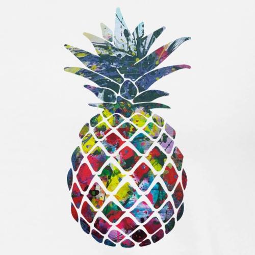 Bunte Ananas Design - Männer Premium T-Shirt